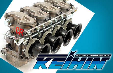 Keihin CR Carburetors at Dynoman