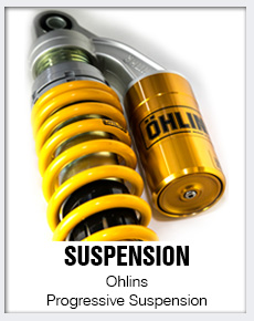 Ohlins Shocks at Dynoman Performance