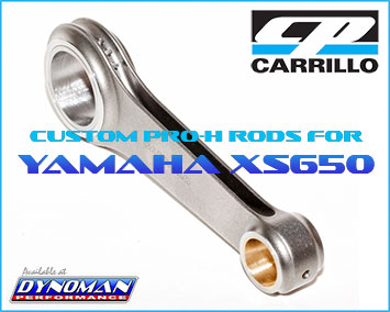 Carrillo XS650 Rods at Dynoman