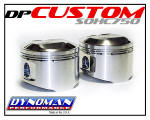 Dynoman Custom Pistons for CB750 SOHC Honda