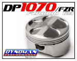 1070cc Piston Kit for FZR1000 at Dynoman