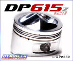 DP615z Piston Kit for GPz by Dynoman