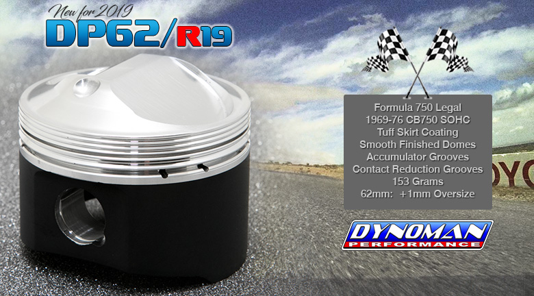 Dynoman Formula 750 Racing Pistons for CB750