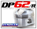 Dynoman 62mm Race Pistons for CB750 SOHC