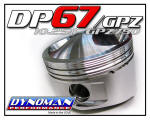 Custom Piston Kit for GPZ750 and KZ750 at Dynoman