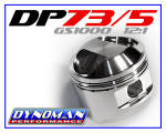 DP73/5GS Custom Pistons for GS1000 at Dynoman