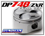 DP748/zxr Piston Kit for ZX7r at Dynoman