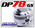 DP78 Piston Kit for GS1000 at Dynoman