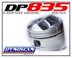 Dynoman DP835 Pistons for CB750 DOHC