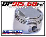 915 Piston Kit for CB750 F2 at Dynoman