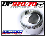 Dynoman 970 Pistons for CB750 F2