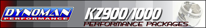 Dynoman KZ900 KZ1000 Performance Engine Packages
