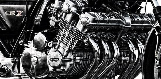 Nickel 1980-1981 Honda CB650 CB650C Custom O-Ring Chain and Sprocket Kit